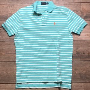 POLO RALPH LAUREN men's polo short sleeve shirt M